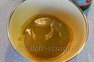 Домашняя горчица: Добавить масло и уксус