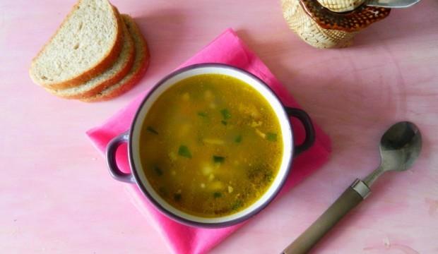 грибной суп с куриным филе рецепт с фото