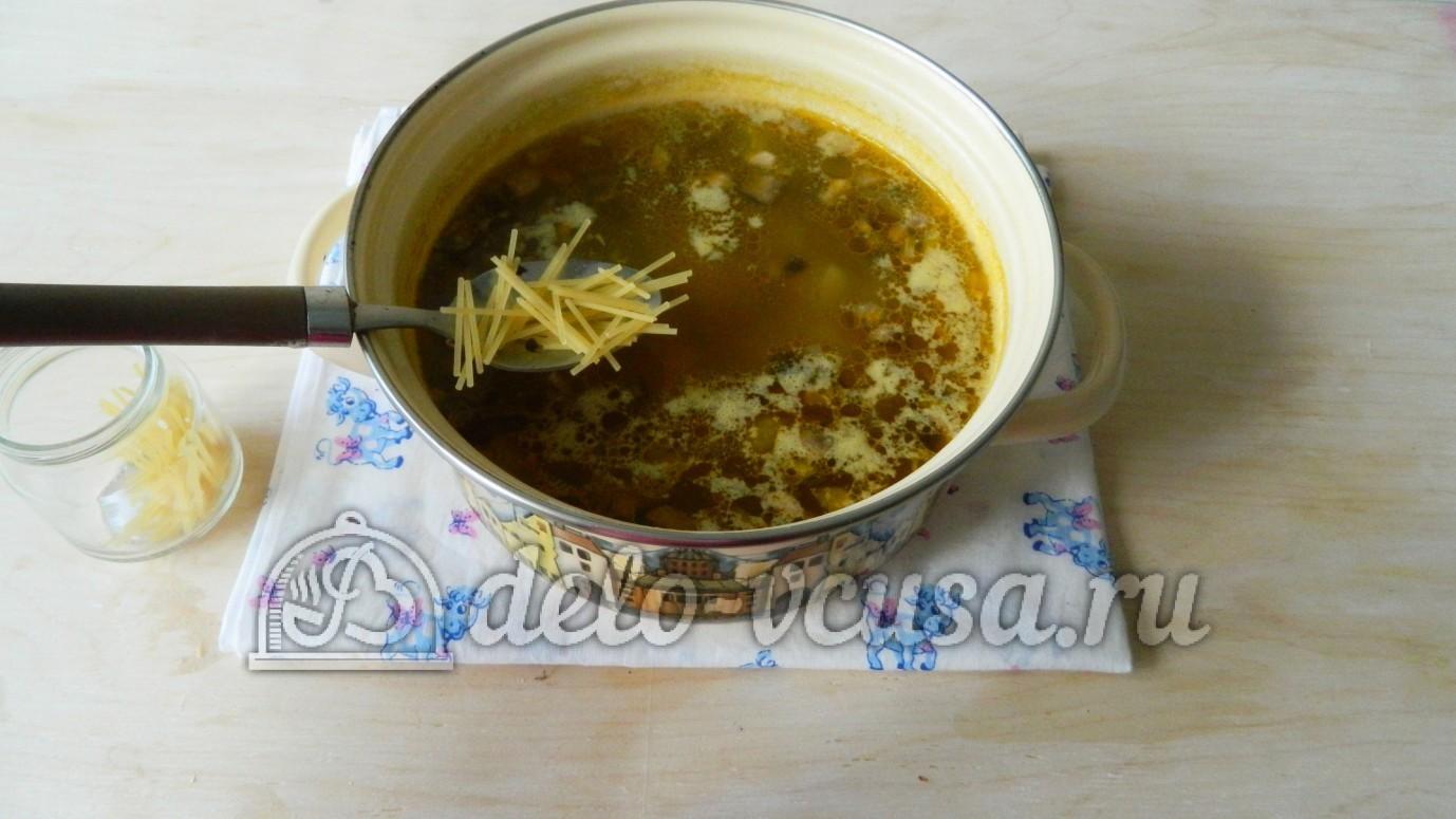 рецепт супа с вермишелью и колбасой рецепт