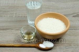 Рис для суши: Ингредиенты