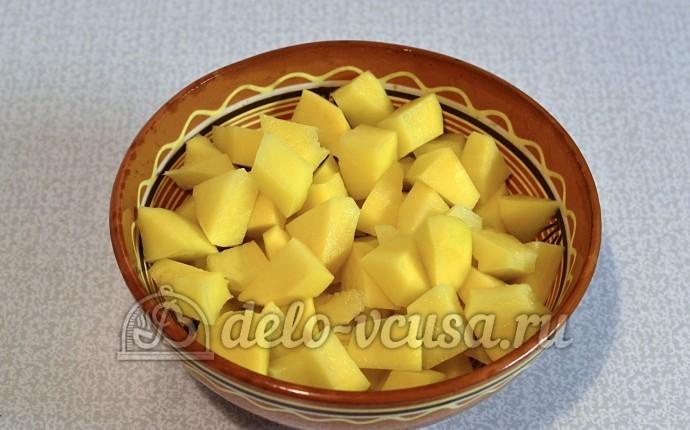 Рецепт: Суп картофельный с вермишелью на m