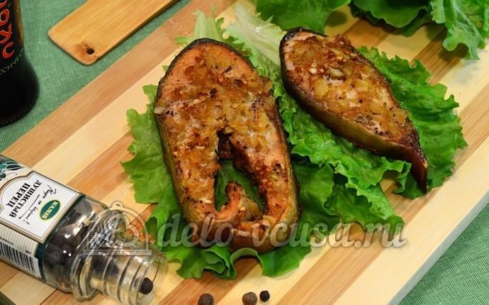 Ребрышки в духовке с соевым соусом и кетчупом 82