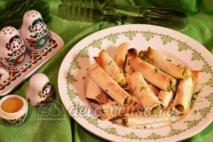 Лаваш с сыром и луком