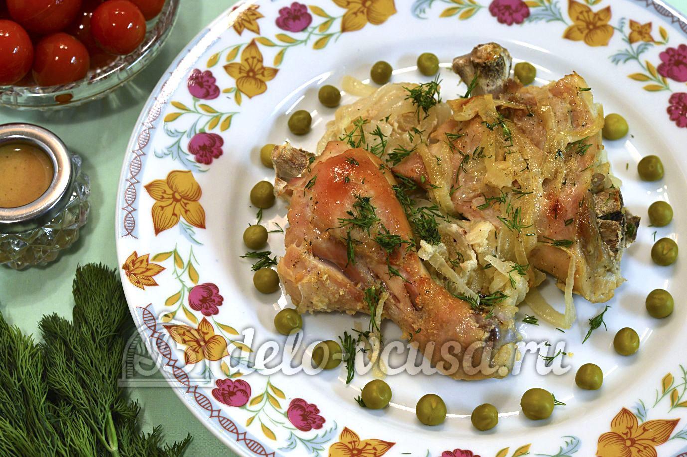 рецепт курице в рукаве в духовке рецепт