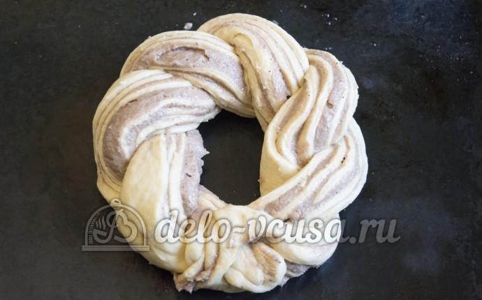 Шоколадная колбаска с печеньем и орехами рецепт с фото пошагово в