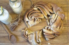 Эстонская булочка с корицей