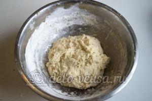 Эстонская булочка с корицей: Замесить тесто