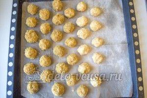 Овощные шарики с сыром: Запекать 45-40 минут