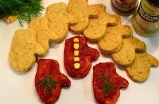 Соленое печенье на майонезе