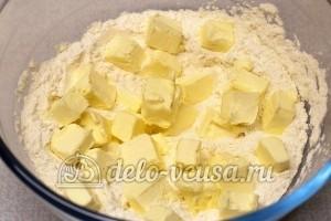 Соленое печенье на майонезе: Добавить масло