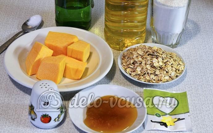 Овсяное печенье с тыквой: Ингредиенты