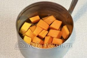 Овсяное печенье с тыквой: Довести да кипения и варить 5-7 минут