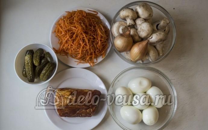 Салат Изабелла: Ингредиенты