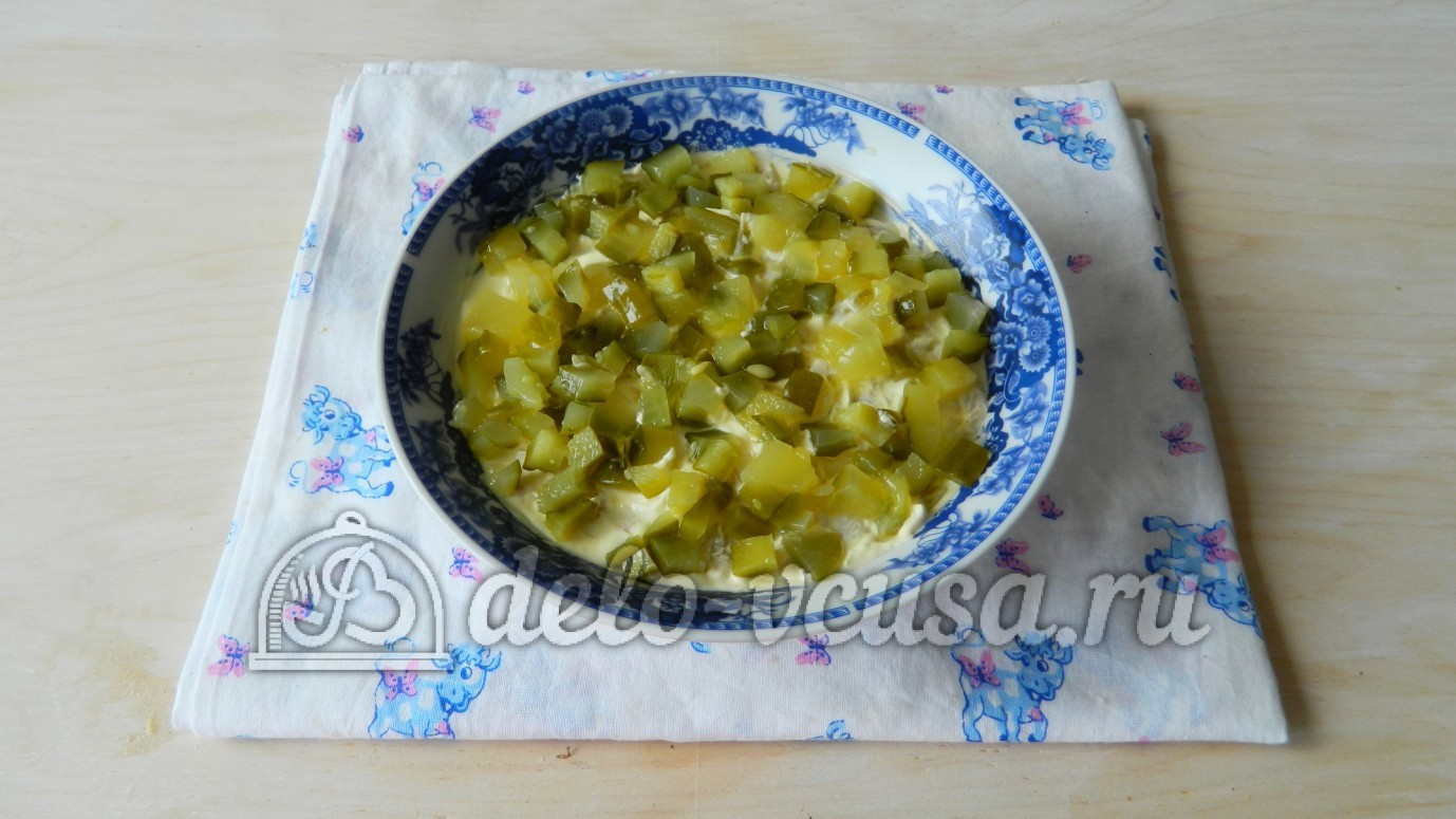 Салат белая береза рецепт с черносливом фото пошагово