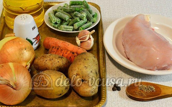 Суп с куриными фрикадельками: Ингредиенты