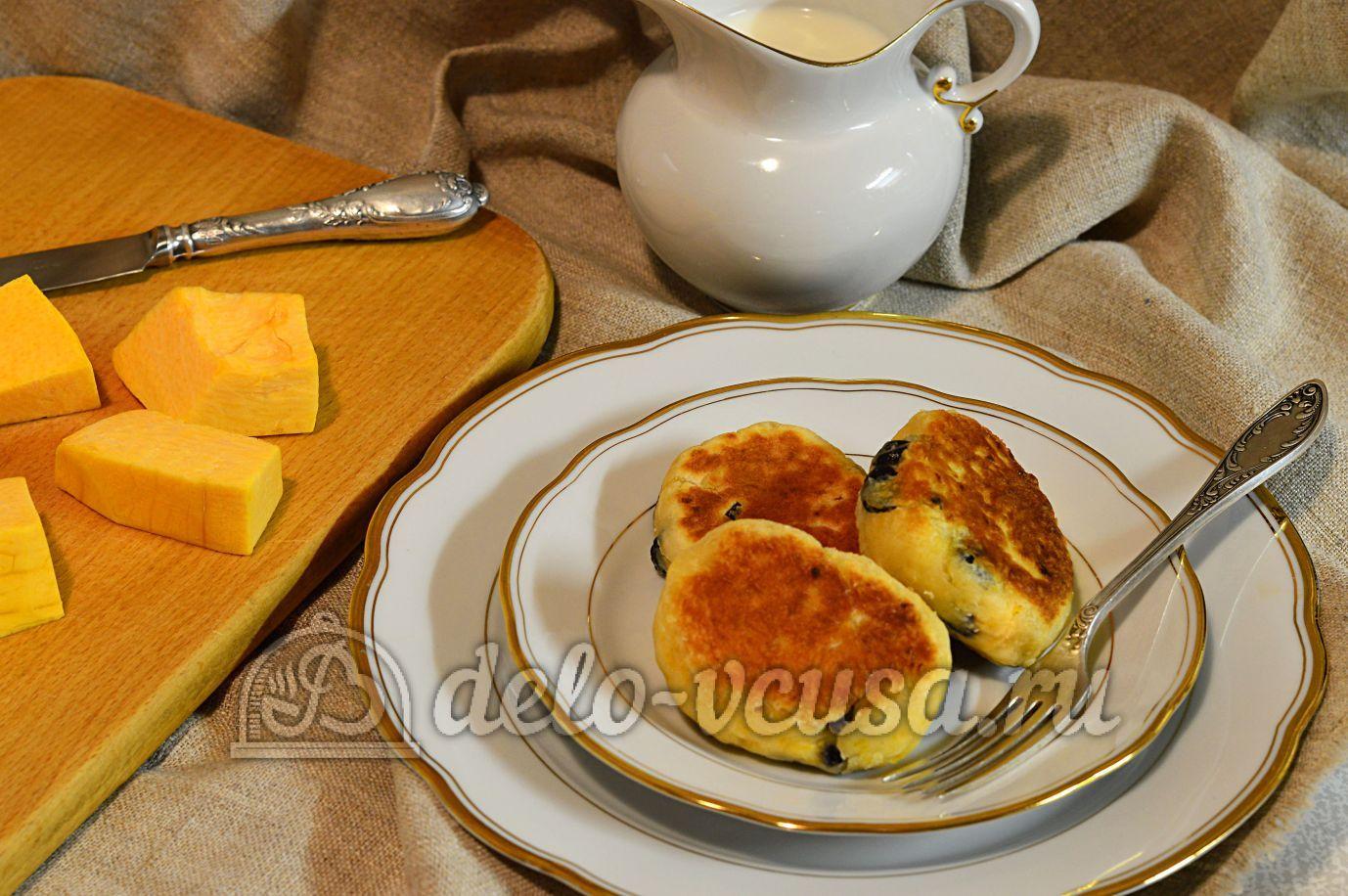 Сырники из тыквы рецепт пошагово 30