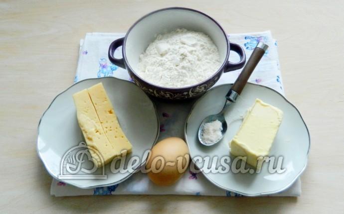 Сырные крекеры: Ингредиенты