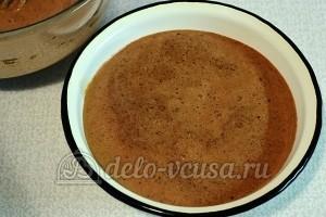 Влажный шоколадный пирог: Взбить смесь