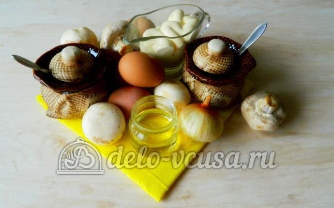 Яйца фаршированные грибами: Ингредиенты