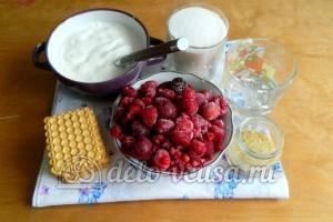 Желейный торт со сметаной: Ингредиенты