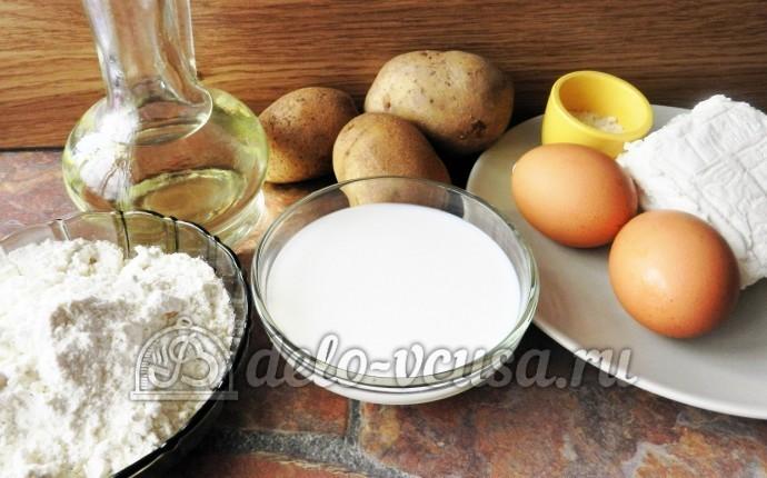 Мнишки со сметаной: Ингредиенты