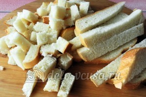 Куриное филе в сухарях: Готовим сухари
