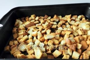 Куриное филе в сухарях: Запекаем хлеб
