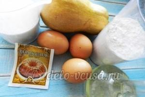 Пирог с тыквой: Ингредиенты