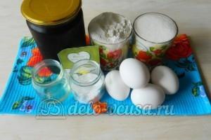 Бисквит с джемом: Ингредиенты