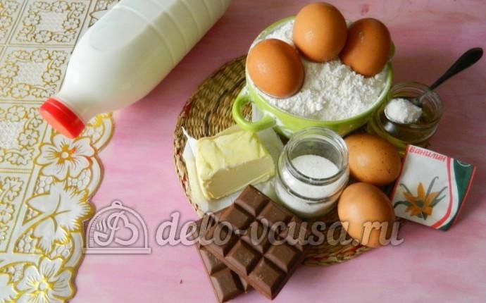 Блинчики с шоколадом: Ингредиенты