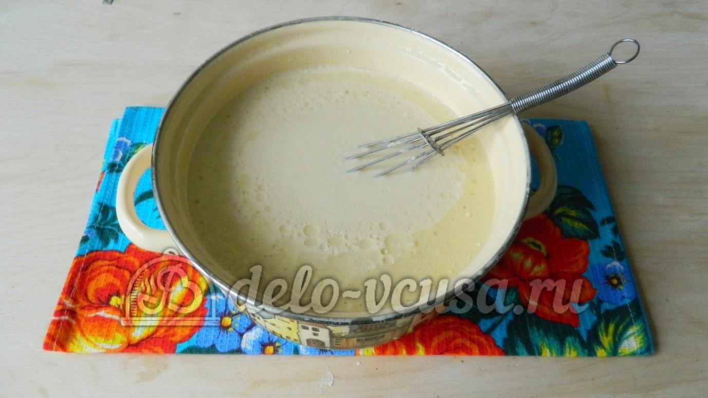 Как приготовить блины с подсолнечным маслом