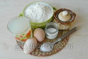 Блины на сыворотке: Ингредиенты