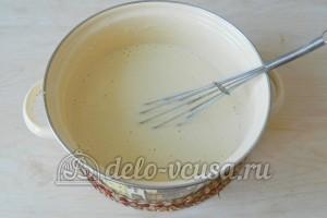 Блины на сыворотке: Перемешать тесто