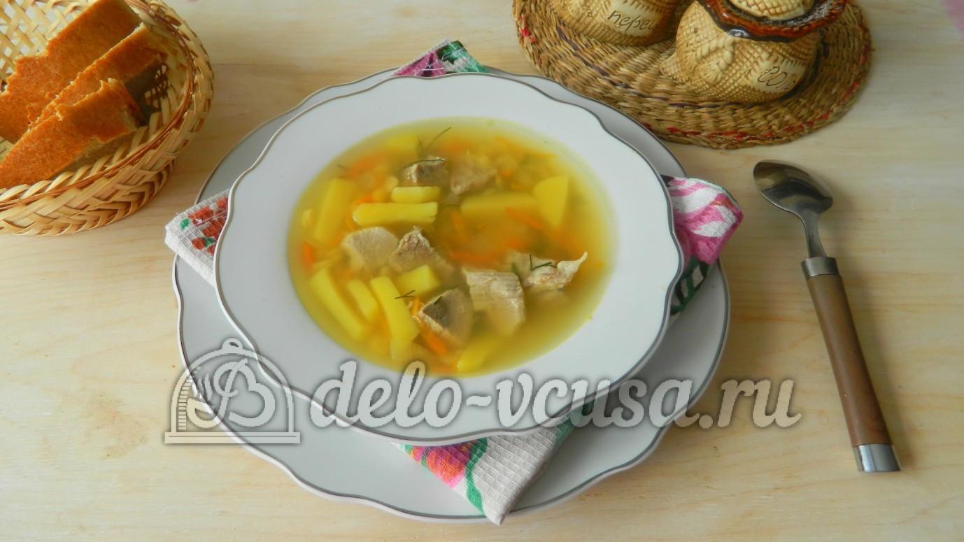Суп гороховый из свинины рецепт с пошагово 192