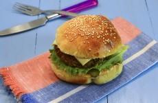 Домашний чизбургер
