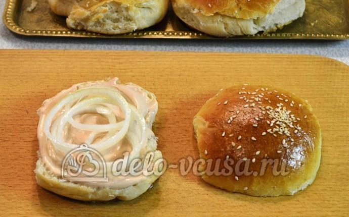 Домашний чизбургер: Формируем чизбургер