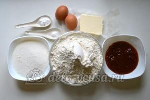 Песочный пирог с вареньем: Ингредиенты