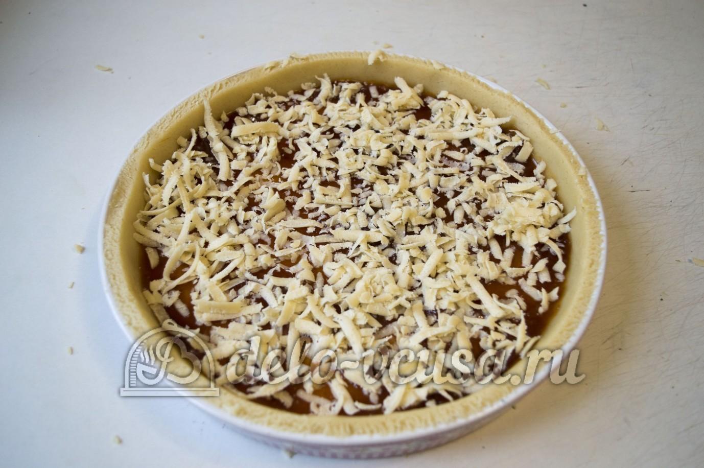 Пирог с песочного теста с вареньем рецепт