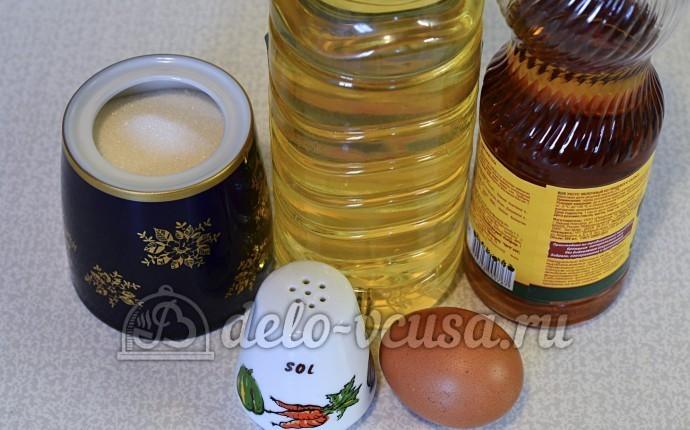 Домашний майонез: Ингредиенты