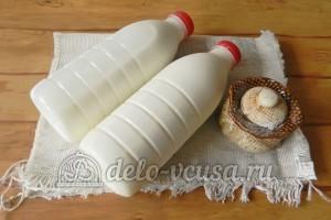 Домашний сыр Фета: Ингредиенты