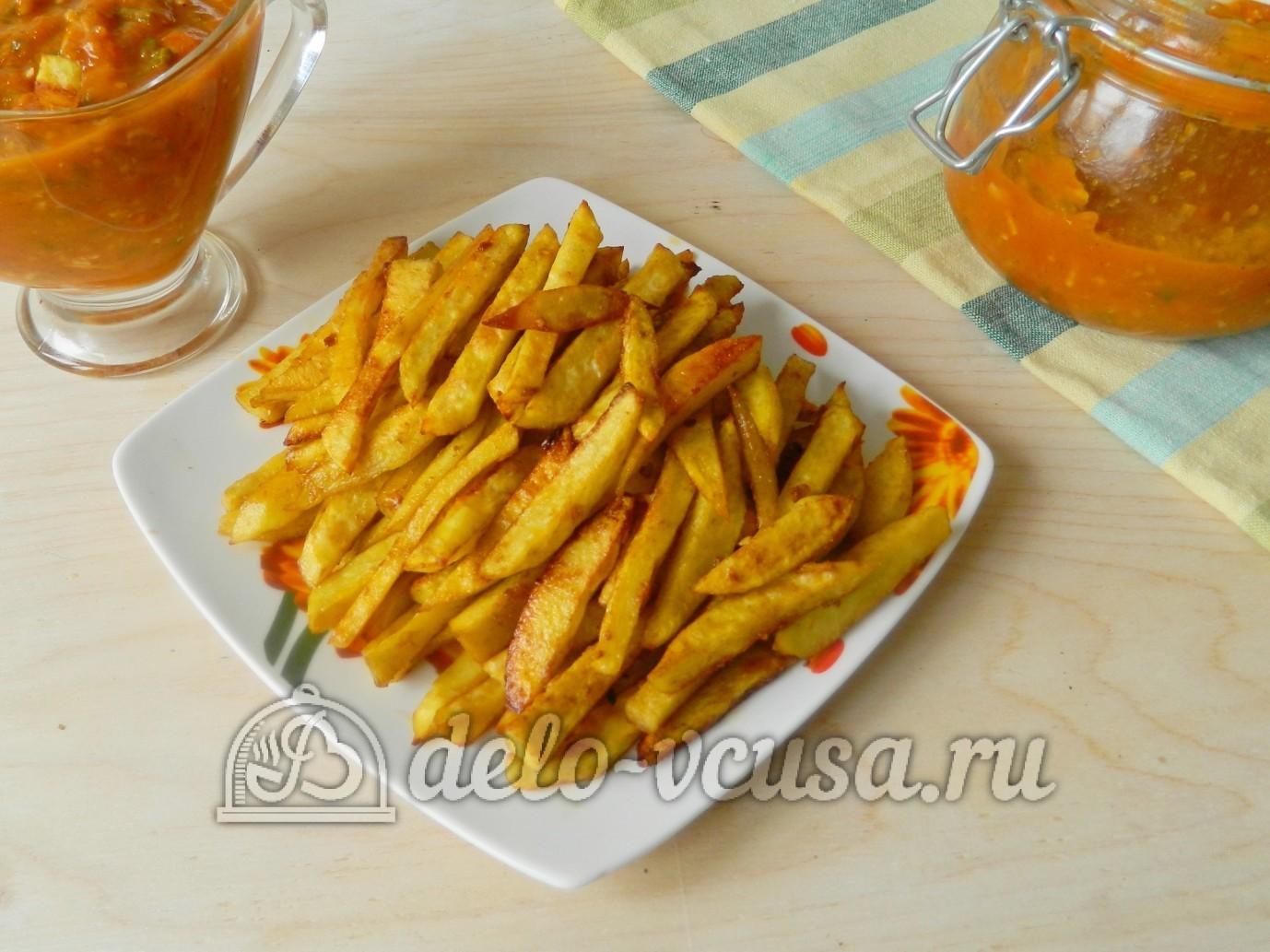 картошка фри дома в духовке рецепт