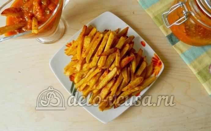 картошка соломкой в духовке рецепт