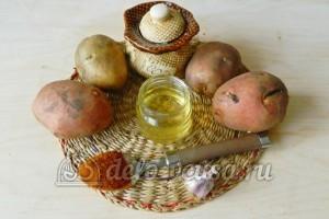Картошка фри в духовке: Ингредиенты