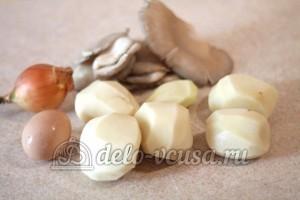 Картофельная бабка с грибами: Ингредиенты