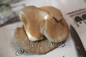 Картофельная бабка с грибами: Очистить грибы