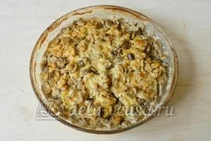 Картофельная запеканка с мясом и грибами: Запекаем в духовке