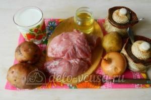 Картошка с мясом в духовке: Ингредиенты