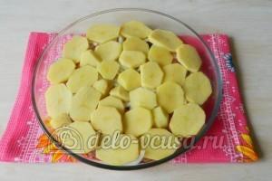 Картошка с мясом в духовке: Добавить картофель