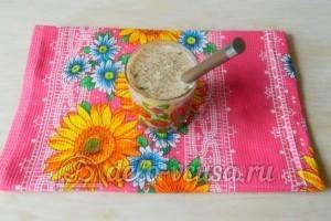 Картошка с мясом в духовке: Перемешать молоко и специи