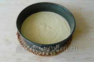 Кокосовый пирог со сливками: Подготовим форму для выпечки